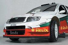 WRC - Skoda: Paasonen mit Unfall - Schwarz zu langsam