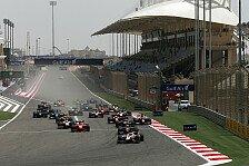 GP2 - Bahrain als Ersatz für Deutschland-Event 2015
