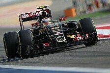 Formel 1 - Maldonado will nicht für Palmer pausieren