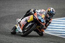Moto3 - WM-Entscheidung vertagt: Kent-Sturz, Oliveira-Sieg