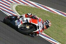 MotoGP - Dovizioso: In Rossis Windschatten zu Rang 2