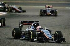 Formel 1 - Punkte für Perez, Enttäuschung für Hülkenberg