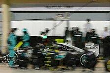 Formel 1 - Mercedes-Baustelle: Boxenstopps