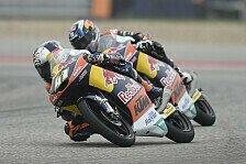 Moto3 - Binder führt drittes Training an