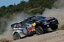 WRC - Argentinien: Ogier führt nach Auftaktprüfung