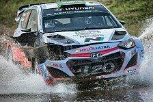 WRC - Argentinien: Prüfung 9 nach Paddon-Unfall abgesagt