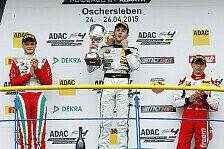 ADAC Formel 4 - Marvin Dienst gewinnt Debütrennen