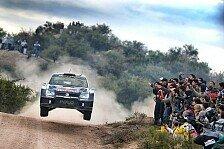 WRC - Argentinien: Vier Piloten für Umweg bestraft