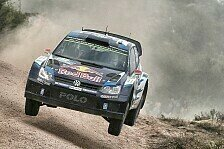 WRC - Latvala wahrt Chancen in Argentinien
