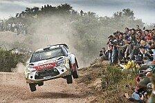 WRC - Meeke weiterhin Argentinien-Spitzenreiter