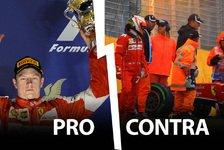 Formel 1 - Neuer Räikkönen-Vertrag: Richtige Entscheidung?