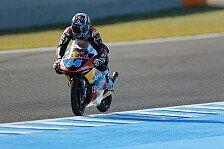 Moto3 - Oliveira legt Bestzeit im ersten Training vor