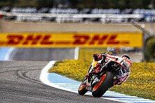 MotoGP - Video: Marquez und Pedrosa geben beim Test in Jerez Gas