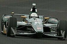 IndyCar - Video: Noch ein Überschlag: Ed Carpenter