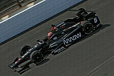 IndyCar - Video: Heftiger Unfall von Hinchcliffe in Indianapolis