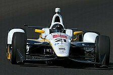 IndyCar - Video: Newgarden crasht bei 350 km/h