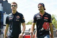Toro Rosso: Sainz und Kvyat kämpfen um die große Red-Bull-Chance