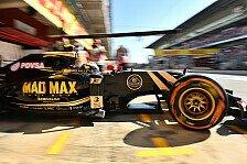 Formel 1 - Maldonado: Der Druck wächst
