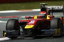 GP2 - Rossi schnappt sich Regen-Pole