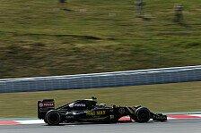 Formel 1 - Grosjean nach Zwischenfall unzufrieden