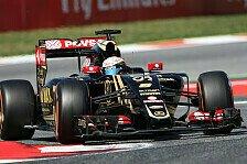 Formel 1 - Chester: Lotus-Crew nach dramatischen Stopps okay