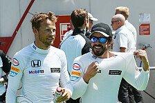 Formel 1 - Button: Alonso ein ganz Lieber