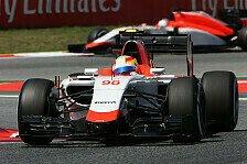 Formel 1 - Manor Vorschau: Monaco GP