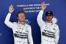 Formel 1 - Hill warnt Hamilton: Rosberg nicht unterschätzen!
