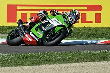 Superbike - Rea gewinnt Sechs-Runden-Sprint