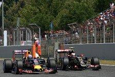 Formel 1 - Maldonado: Lotus schneller als Red Bull