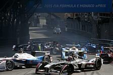 Formel E - Video: Mega-Crash in Monaco
