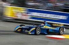 Formel E - 1. Training: Buemi in Berlin vorn