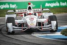 IndyCar - Video: IndyCar 2015: Die Highlights vom Rennen in Indianapolis