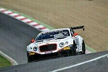 Blancpain GT Serien - BSS - Zwei Siege fürs Bentley Team HTP in England