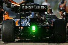 Formel 1 - Wehrlein krank: Ocon testet für Force India