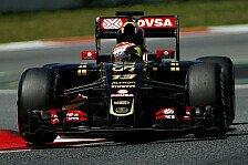 Formel 1 - Maldonado: Jede Ecke eine Herausforderung