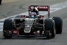 Formel 1 - Palmer: Jorda und Fong nur Entwicklungsfahrer