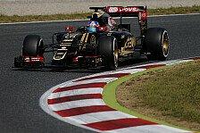 Formel 1 - Sechs weitere Lotus-Einsätze für Palmer