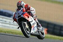 MotoGP - Dovizioso tappt im Dunkeln: Siegchance von P2?
