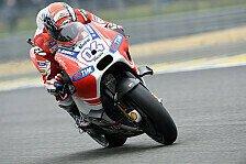 MotoGP - Dovizioso zurück in der Spitzengruppe