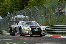 24 h Nürburgring - Audi mit zwei Werksautos in der Eifel am Start