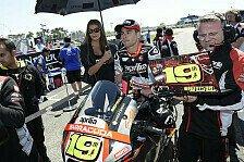 MotoGP - Bautista bestreitet 100. MotoGP-Rennen