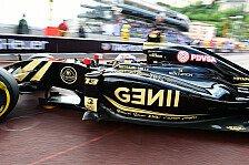 Formel 1 - Lotus: Maldonado überrascht positiv