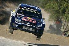 WRC - VW im Portugal-Shakedown vorn