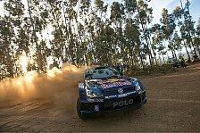 WRC - Chaos durch Waldbrand in Portugal - Latvala vorne!