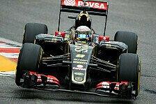 Formel 1 - Grosjean begeistert: Neue Teile klare Verbesserung