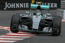 Formel 1 - Monaco GP: Rosberg holt Sieg-Hattrick