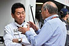Formel 1 - Honda-Motorsportchef Arai: Negativität hilft nicht