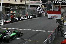 GP2 - Stanaway sprintet in Monaco zum Sieg