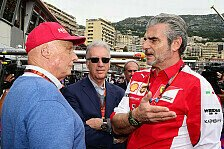 Formel 1 - Bilderserie: Laudas Spaghetti-Schlacht mit Ferrari